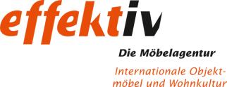 Logo von effektiv - Die Möbelagentur GmbH